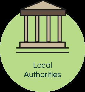 Local authorities icon front