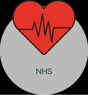 NHS logo front